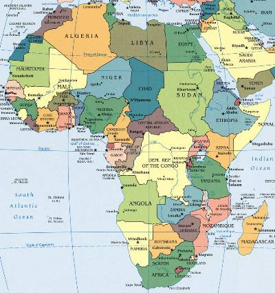 Chess for All Ages: Chess in Africa   FIDE Members